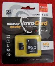 imrocard Scheda di memoria HQ 32GB UHS-I MIRCO SDHC CON ADATTATORE classe 10 ADP