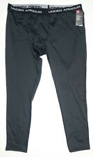 Under Armour ColdGear Base Mens 3.0 Leggings Black 1281109-001 Size 3XL $75
