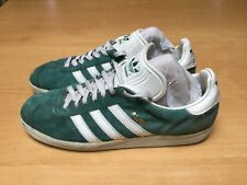 Vintage 1994 Adidas Gazelle Men's Size 10 Green Original VTG Suede Collectors