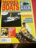MODEL BOATS MAG JANUARY 1996 A.T.C.H CARRIER PLANS IVOR DODDS SALISBURY DOUGLAS
