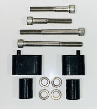 """Floorboard Extension Kit 1 1/4"""" for Harley Davidson touring motorcycles spacer"""