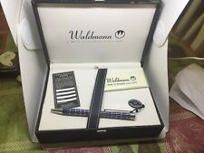 Waldmann  Rollerball 925 Sterling Silver  And Blue Pen Germany...