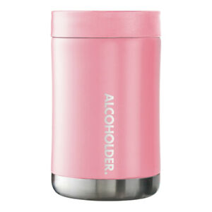 StubZero Insulated Can & Bottle Cooler - Blush Pink - Up to 5x Colder @ 1hr