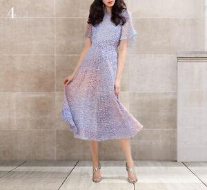 New L.K Bennett Madison Silk Dress Size UK 8 10