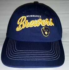 NEW w/Tags MLB Milwaukee Brewers Blue Women's Baseball Cap Hat - FREE Shipping!