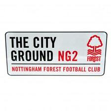Nottingham Forest FC Street Sign The City Ground Football Team Club Ng2