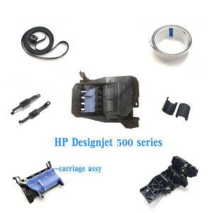 HP Designjet 500 510 800 A1 B0 plotter parts belt /cable /cutter /carriage C7769