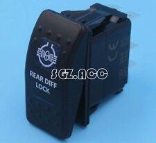 REAR DIFF LOCK Rocker Switch Blue ARB Carling Style Type Landcruiser Patrol