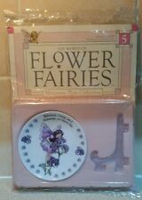 Hachette Flower Fairies Miniature Plate Collection / Magazine, Heliotrope Fairy