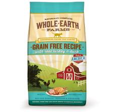 Whole Earth Farms Grain Free Turkey & Duck Recipe Cat Food 10 lb