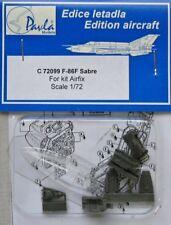 Pavla Models 1/72 F-86F Sabre Cockpit set for Airfix kit # C72099