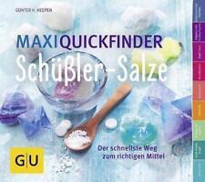 Maxi-Quickfinder Schüßler-Salze von Günther H. Heepen (2015, Taschenbuch)