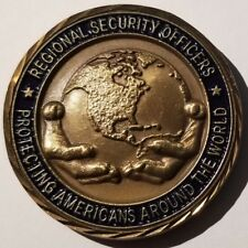 DOS DSS Diplomatic Security Service Regional Security Officers Challenge Coin