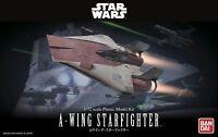 A-Wing Starfighter Modellbausatz 1/72 von Bandai, Star Wars Model Kit