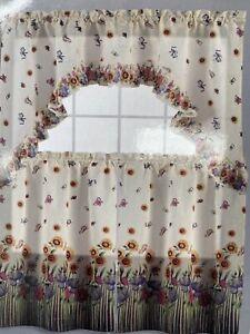 Sunflower Kitchen Curtain
