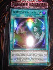 YU-GI-OH! ULTRA RARE LE RENONCE DE LA FUSION LED2-FR004 FRANCAIS EDITION 1