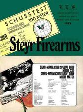 Steyr-Mannlicher Schoenauer Repeating Sporting Rifles 1973 (in English-Catalog)