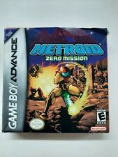 Metroid Zero Mission BOX ONLY - Authentic and Original w/ Manual and Inserts