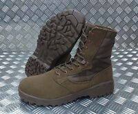 Genuine British Army BROWN Magnum Scorpion Desert Patrol Assault Boots - NEW
