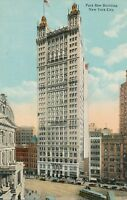 NEW YORK CITY – Park Row Building