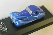 LUXCAR 018 - DELAHAYE 135 COMPETITION TEARDROP COUPE FIGONI FALASCHI 1936 1/43