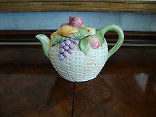 TEA POT FRUIT AND BASKET MADE IN ITALY