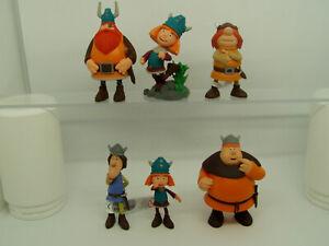 Wickie und die starken Männer = Faxe Halvar Snorre Tjure Bullyland Figur NEU