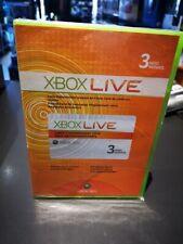 x box live 3 mois