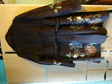 Brauner Mantel von Desigual, Gr. 46 (D :42), Lammfell-Imitat, gute Erhaltung