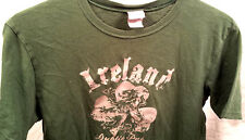 IRISH Green Graphic Tee Men's Small S Utility used Tshirt A&F Buckle Aeropostale