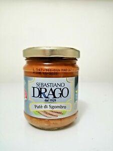 Patè di Sgombro vaso 180gr Conserva Siciliana