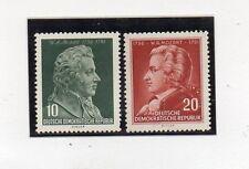 Alemania DDR Personajes Musica Mozart Serie del año 1956 (CK-889)