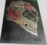 2006-07 In The Game Between The Pipes The Mask IV Cam Ward Vault MASK Card