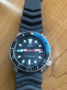 SEIKO DIVER 7002-7000 MOD AUTOMATIC MENS WATCH 470692