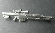 Barrett M82 A1 M107 SA Sniper Rifle Firearm Gun Light Fifty Hat Pin Badge 2.5 ""