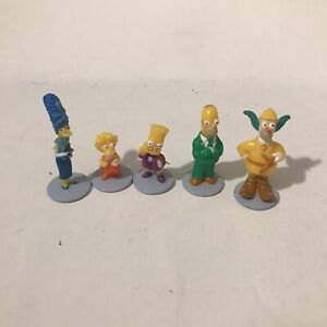 The Simpsons Clue Replacement Game Piece Pieces Character Figures 2nd Edition
