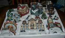 Traditions 39 Piece Lighted Christmas Village