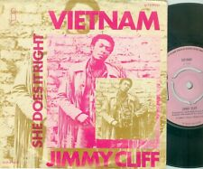 "JIMMY CLIFF- VIETNAM ( DUTCH ISLAND 6014 003 ) 7""PS  1970 / PINK LABEL"