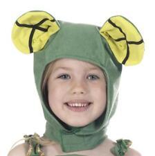 Frog animal dressing up hat fancy dress for kids Farm Costume