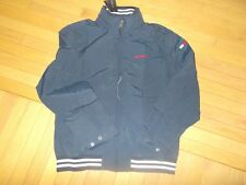 NWT MENS TOMMY HILFIGER WATER PROOF REGATTA JACKET MEDIUM M NAVY BLUE