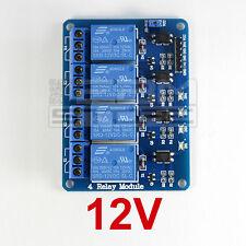 Scheda 4 relè 12Vdc relay - ART. CQ10
