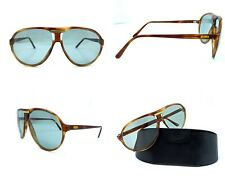Vintage Persol Ratti 0695 Aviator Sunglasses PM lens 1970s Italy size 64 Brown