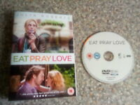 Dvd eat pray love disc only free postage (18)