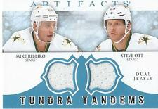 2012-13 Artifacts Tundra Tandems MIKE RIBEIRO & STEVE OTT #TT-RO Dallas Stars