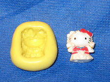Hello Kitty Japanese Silicone Mold Flexible Resin Clay Candy Food Safe #649
