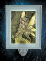 Primrose Fairy by Amy Brown Porcelain Night Light - Made in U.S.A. - Last 1