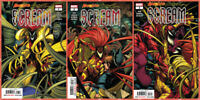 ABSOLUTE CARNAGE SCREAM 1 2 3 SET Venom Spiderman Cullen Bunn Marvel 2019 NM- NM