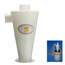 High Efficiency Plastic Cyclone Powder Dust Collector Filter Vacuums Cleaner NEW
