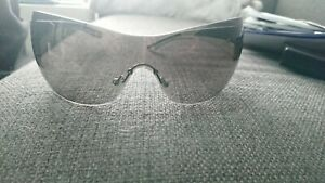 beautiful prada sun glasses black and white frame
