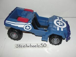 Captain America Shield Assault 4X4 Action Figure Vehicle Hasbro 2011 Marvel Jeep
